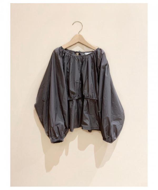 Gathered Pullover Blouse