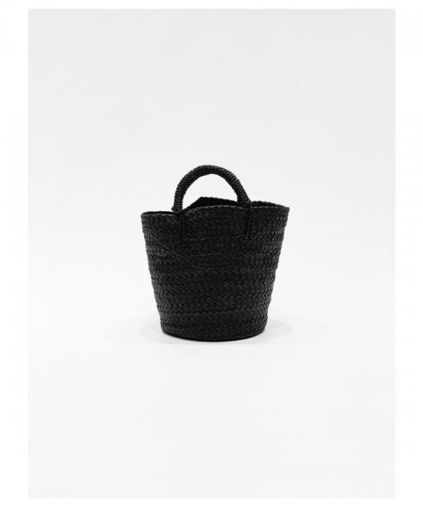 LEATHER BASKET - S