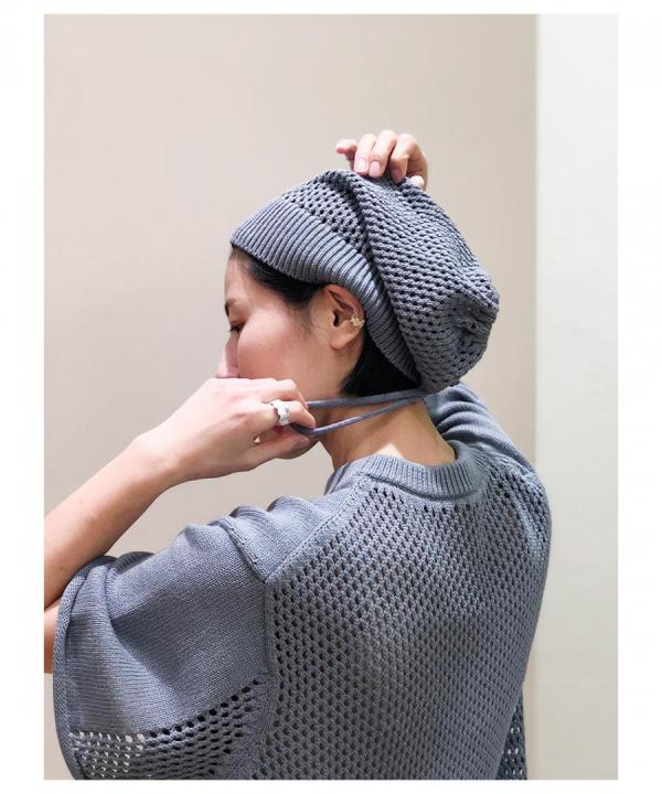 MESH KNIT 2WAY CAP